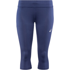 asics Silver Knee Tights Women, indigo blue
